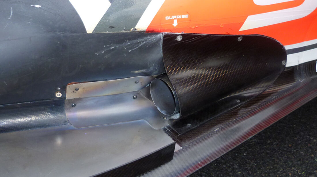Hispania Auspuff GP England 2011