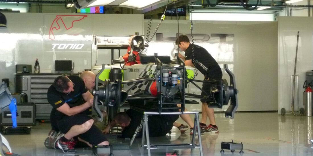 Hispania Box - GP Abu Dhabi - 10. November 2011