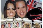 Hochzeit, William und Kate