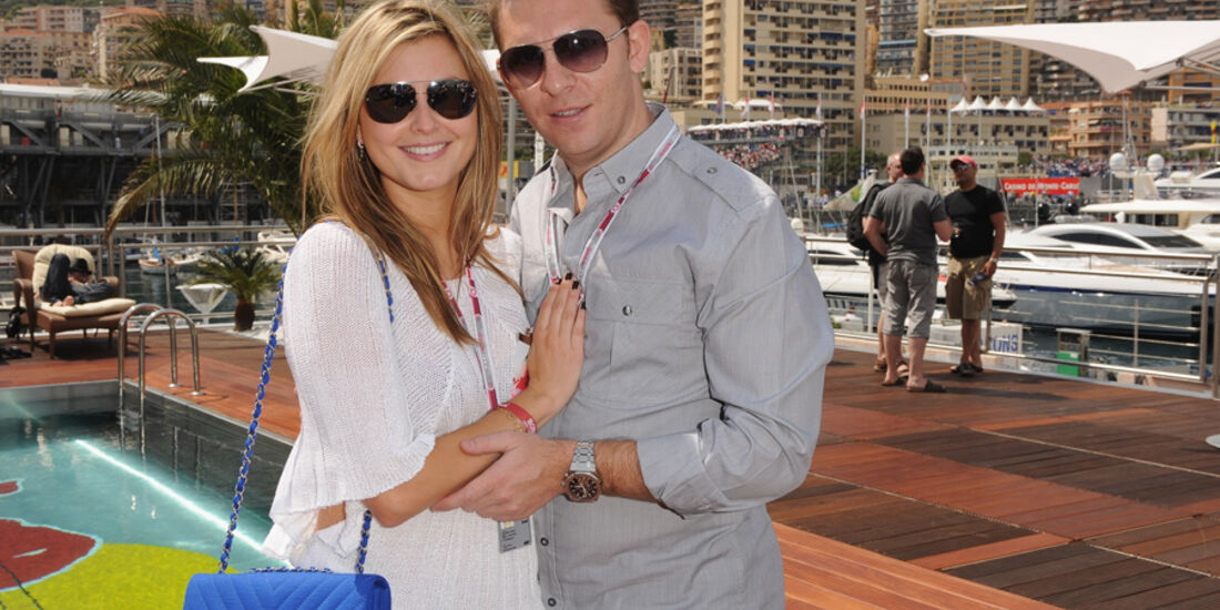 Holly Valance Nick Candy GP Monaco 2010