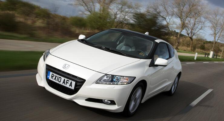 Honda CR-Z, Frontansicht, Überlandfahrt