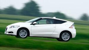 Honda CR-Z, Seitenansicht, Überlandfahrt