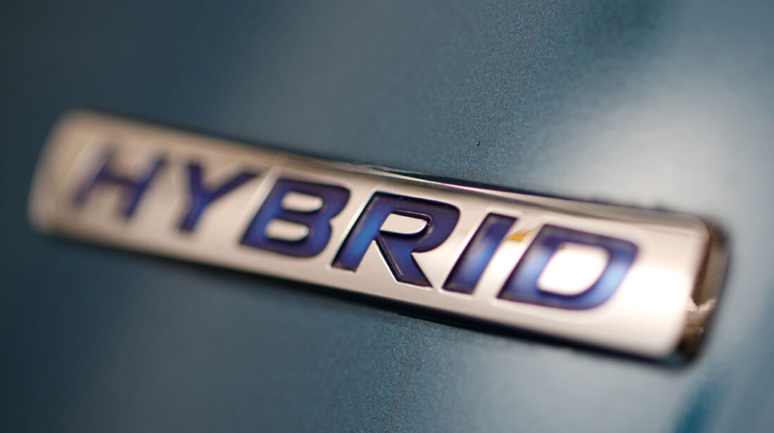 Honda CR-Z Sport, Emblem, Hybrid