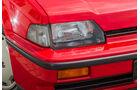 Honda CRX, Frontscheinwerfer
