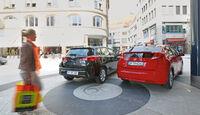 Honda Civic 1.6 i-DTEC, Toyota Auris 2.0 D-4D, Heckansicht