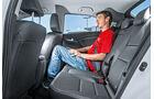 Honda Civic 1.6i-DTEC, Fondsitz, Beinfreiheit