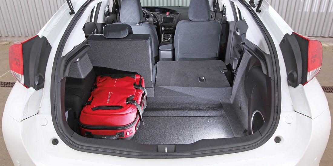 Honda Civic 1.8 i-VTEC Sport, Rücksitz, Beinfreiheit