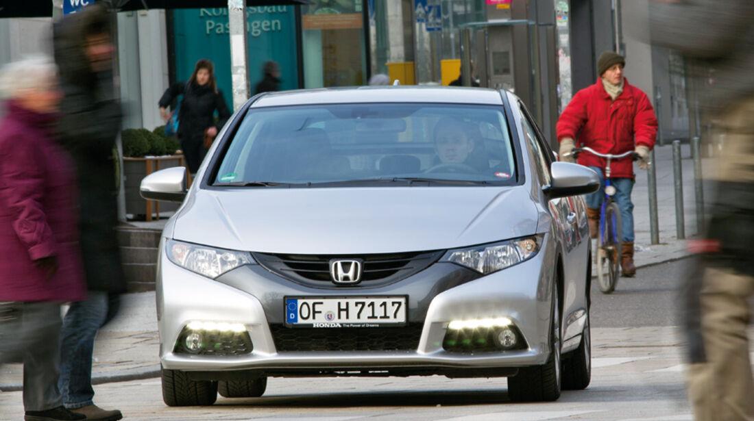Honda Civic 2.2i-DTEC, Frontansicht