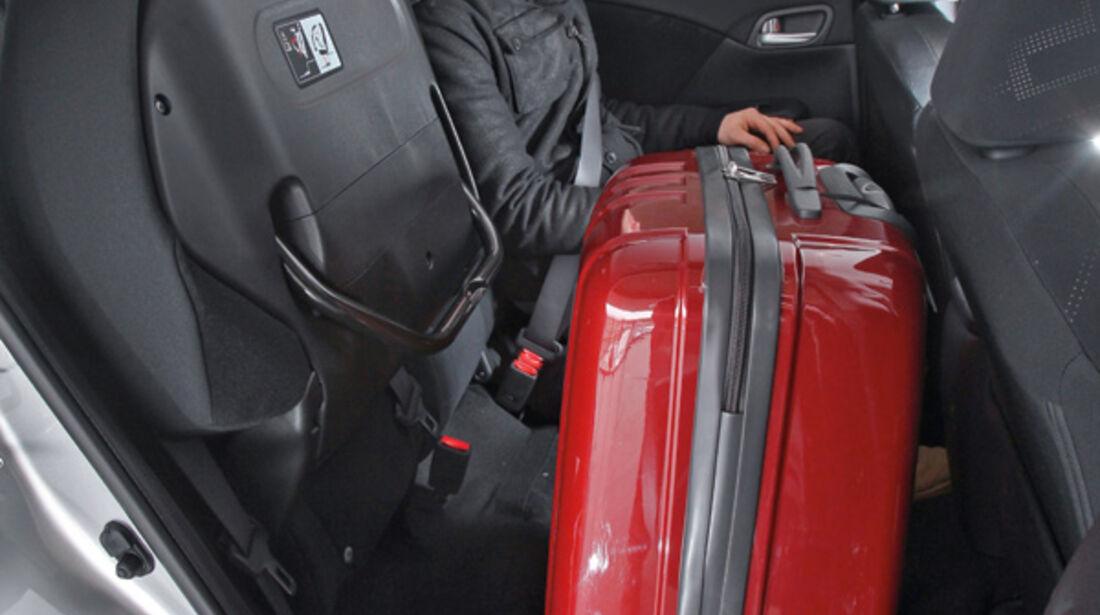 Honda Civic 2.2i-DTEC, Rücksitz, umklappbar