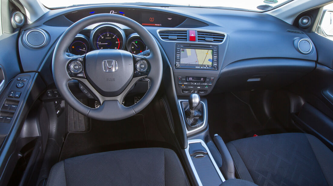 Honda Civic Tourer 1.6 i-DTEC, Cockpit