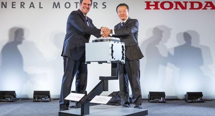 Honda GM Brennstoffzellenpartnerschaft
