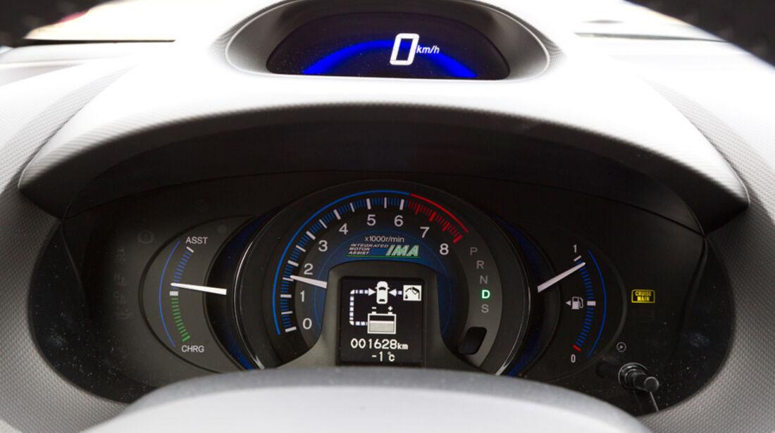 Honda Insight Exclusive, Rundelement, Tacho