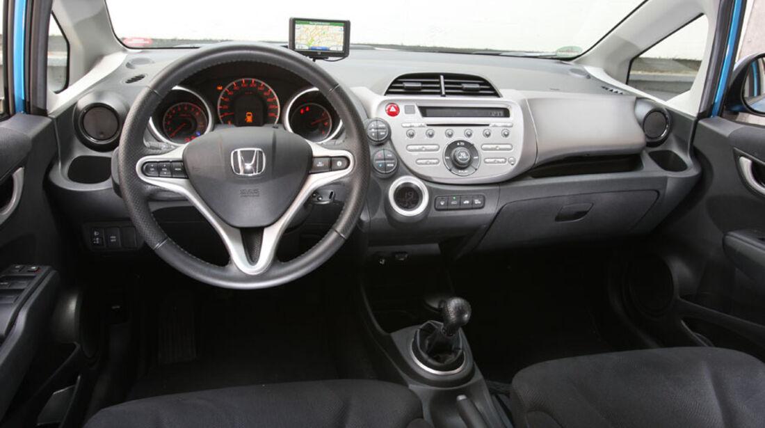 Honda Jazz 1.4i, Cockpit