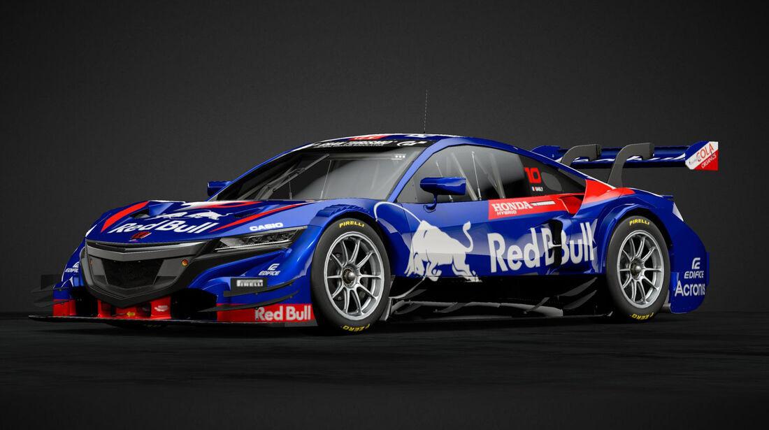 Honda NSX GT im F1-Design - 2019