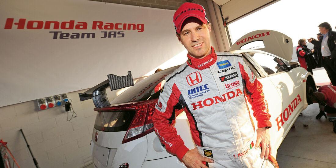 Honda Racing, Tiago Monteiro