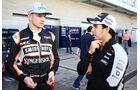 Hülkenberg & Perez - Force India - Formel 1 - Austin - GP USA - 22. Oktober 2016