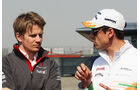 Hülkenberg & Sutil - Formel 1 - GP China - 11. April 2013