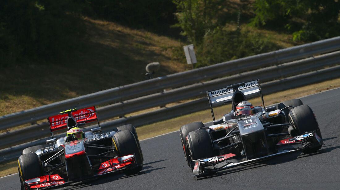 Hülkenberg vs. Perez - Formel 1 - GP Ungarn 2013