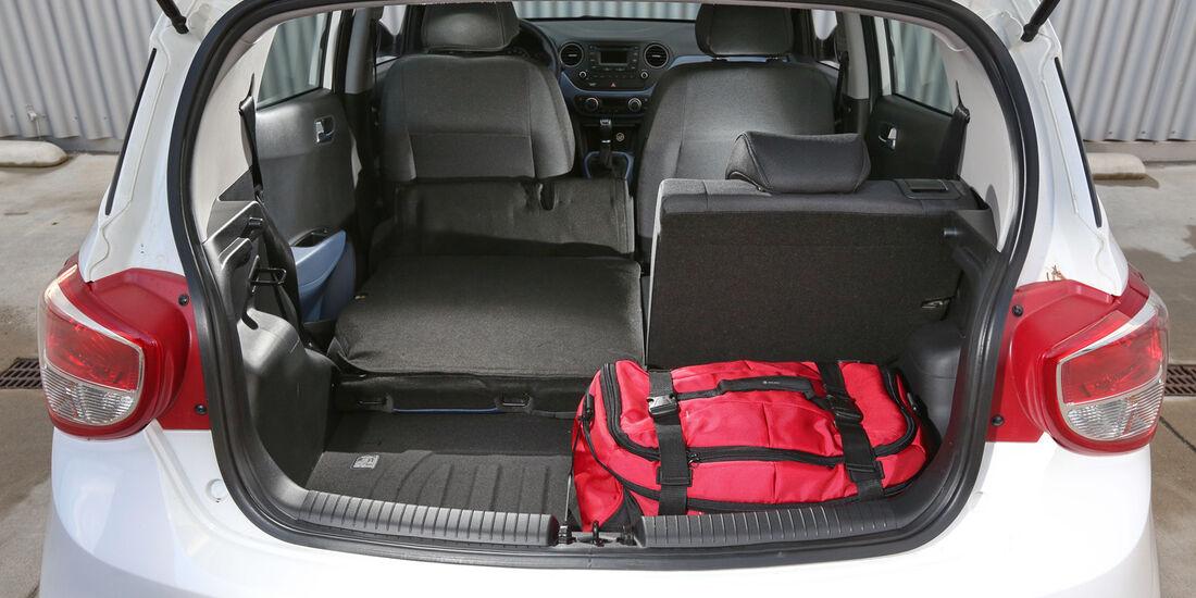 Hyundai I10 Blue 1.0, Kofferraum