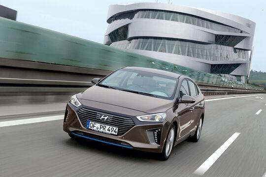 Hyundai Ioniq 1.6 GDI Hybrid, Frontansicht