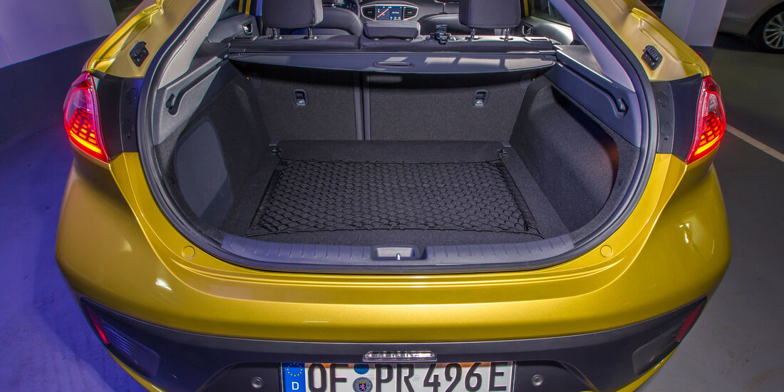 Hyundai Ioniq Elektro, Kofferraum