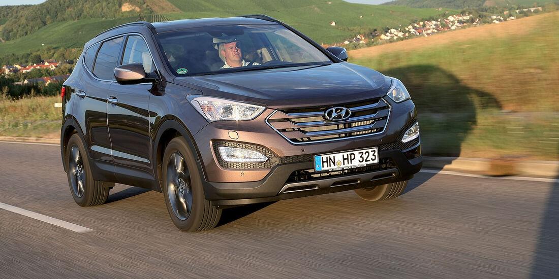 Hyundai Santa Fe 2014 Siebensitzer