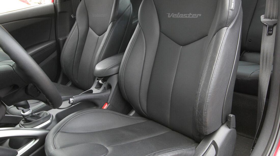 Hyundai Veloster Blue 1.6, Fahrersitz