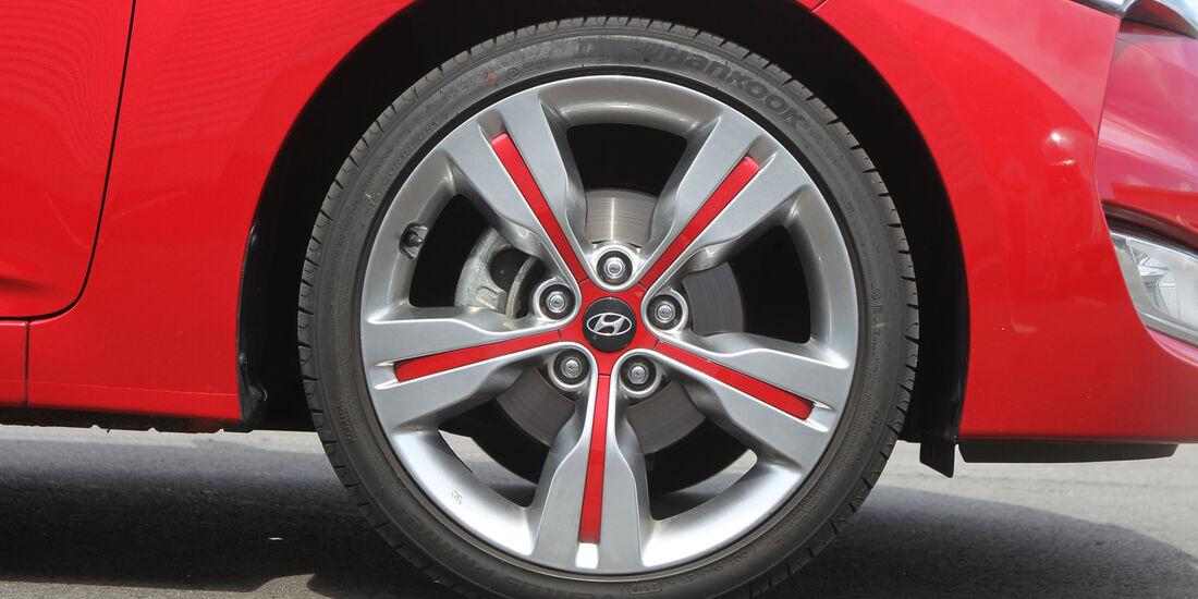 Hyundai Veloster Blue 1.6, Rad, Felge