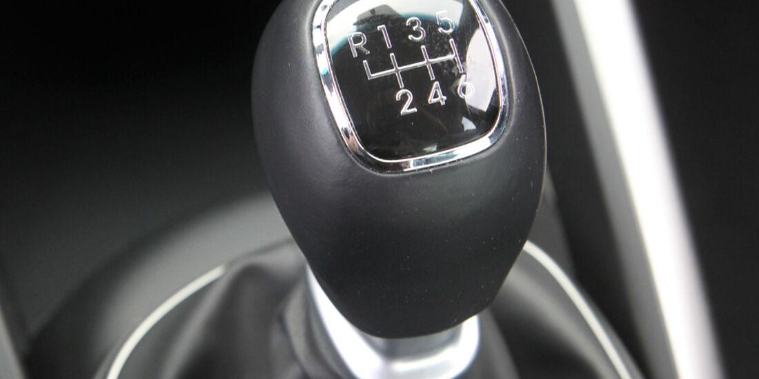 Hyundai Veloster Blue 1.6, Schaltknauf, Schalthebel