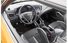 Hyundai Veloster Turbo, Cockpit