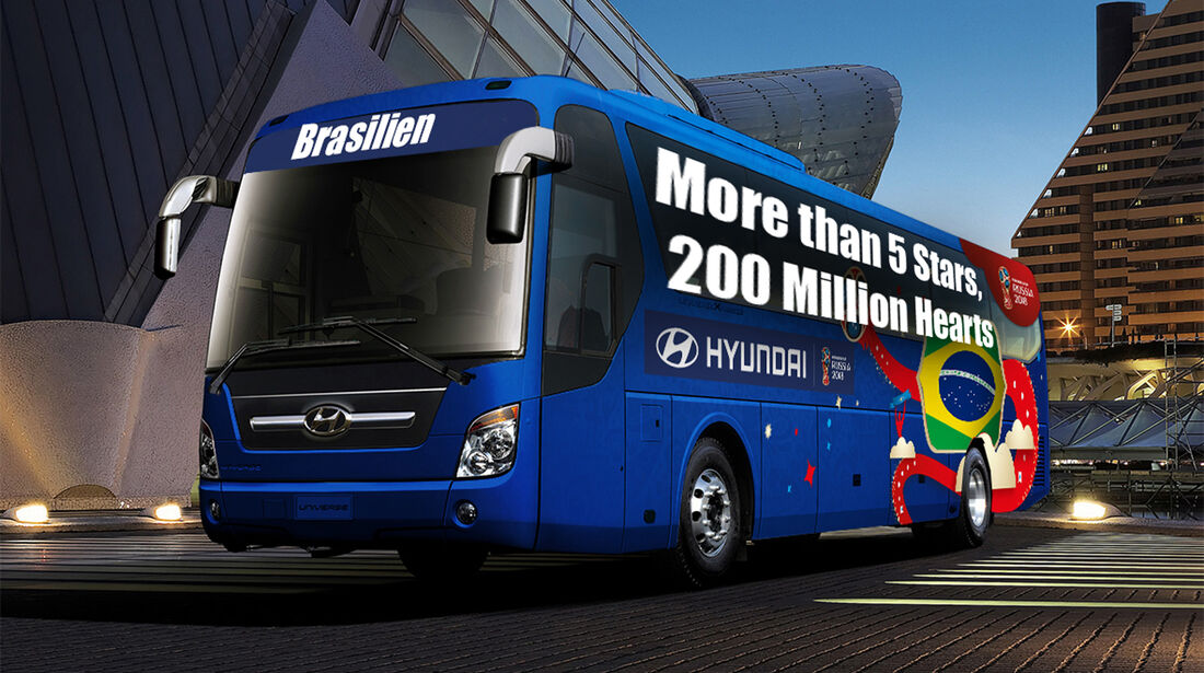 Hyundai WM-Busse Slogan Brasilien