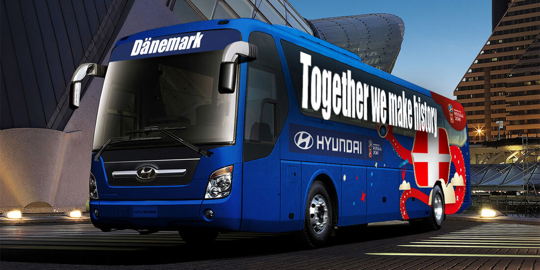 Hyundai WM-Busse Slogan Dänemark