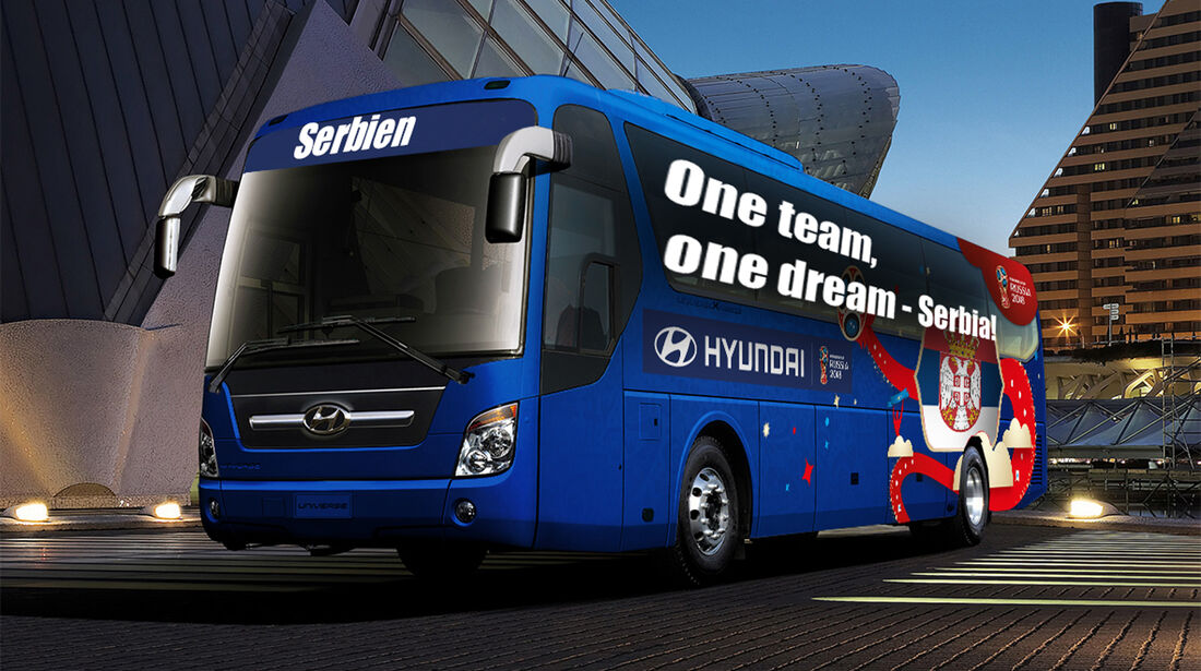 Hyundai WM-Busse Slogan Serbien
