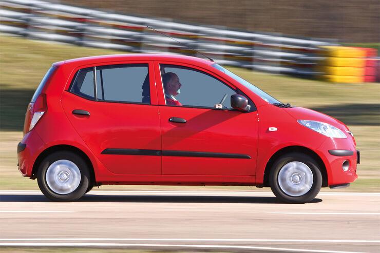 hyundai i10 (pa) technische daten - auto motor und sport