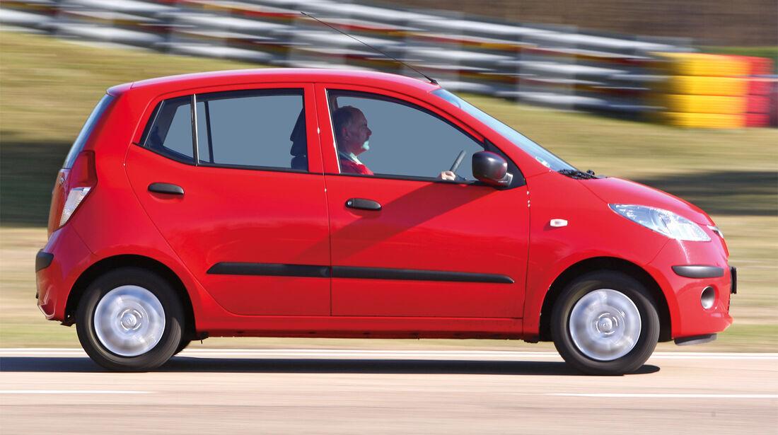 Hyundai i10. Seitenansicht