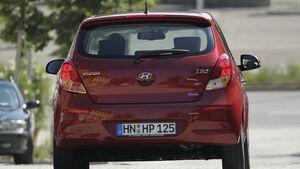 Hyundai i20 Blue 1.1 CRDi Trend, Heckansicht