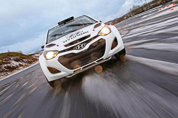 Hyundai i20 WRC, Frontansicht