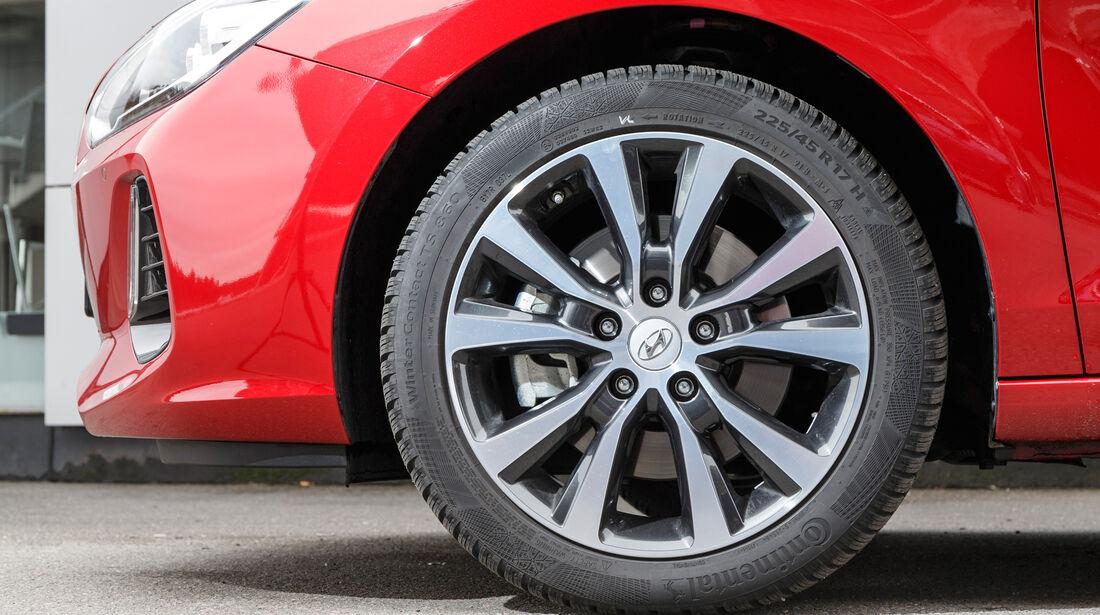 Hyundai i30 1.0 T-GDI, Rad, Felge