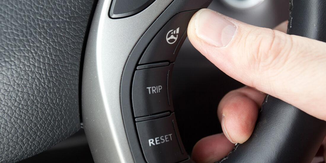 Hyundai i30 1.6, Bedienelemente