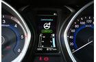 Hyundai i30 1.6 CRDI, Bildschirmanzeige, Rundinstrumente