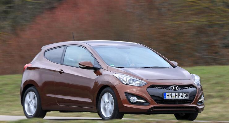 hyundai i30 1.6 crdi coupé im fahrbericht: 2 türen machen kein coupé