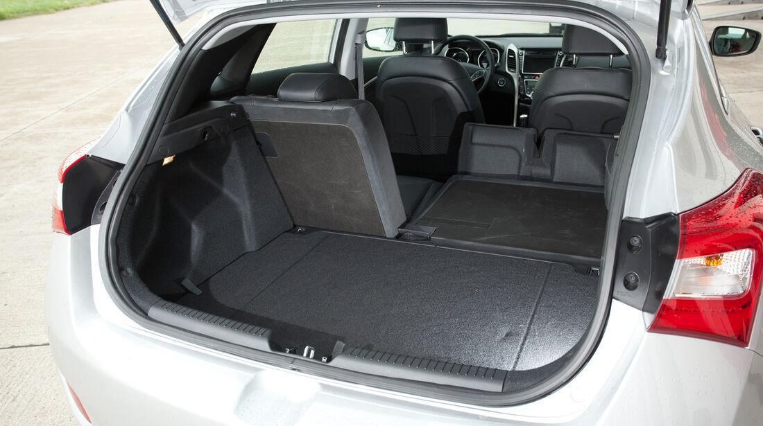 Hyundai i30 1.6, Rücksitz, Umklappen