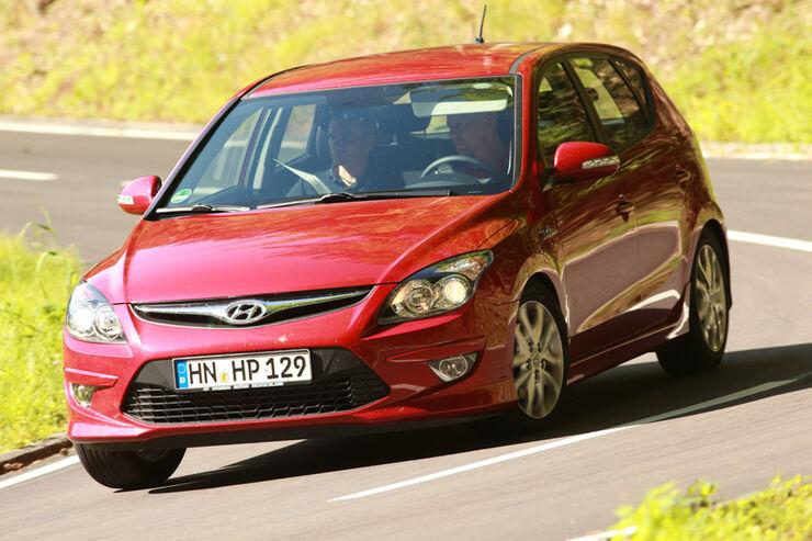 hyundai i30 (typ fd/ fdh) technische daten - auto motor und sport