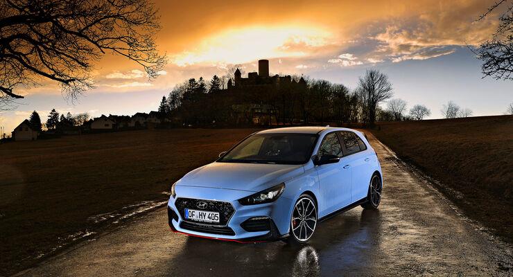 Hyundai I30 N Performance Im Supertest Auto Motor Und Sport