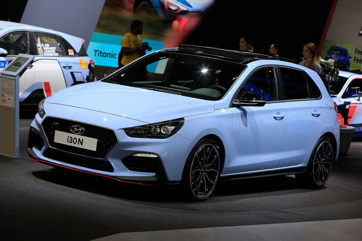 hyundai i30 n auf der iaa 2017 hot hatch feiert premiere auto motor und sport. Black Bedroom Furniture Sets. Home Design Ideas