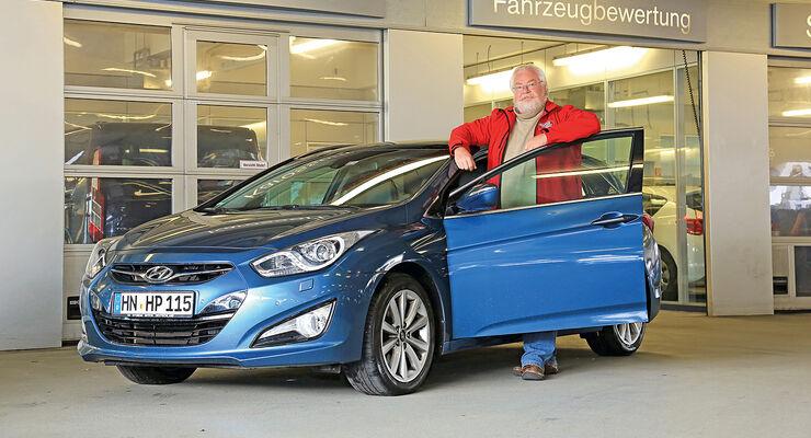 Hyundai i40 Combi, Dauertest