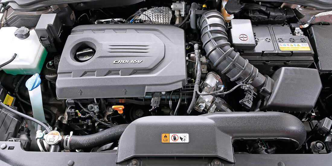 Hyundai i40 Kombi 1.7 CRDi, Motor