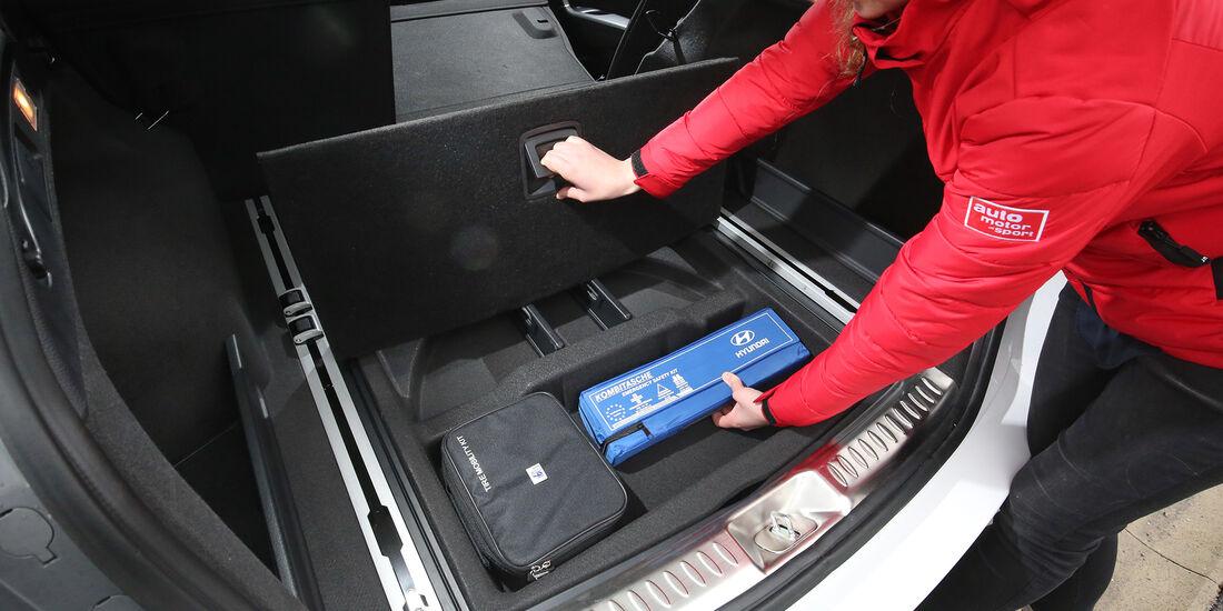 Hyundai i40 Kombi, Kofferraum
