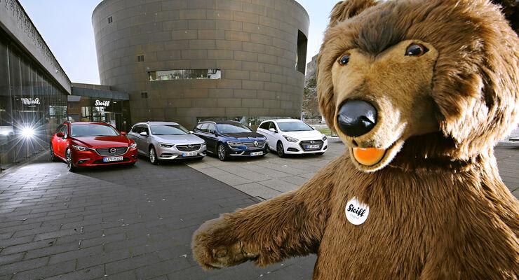 Hyundai i40 Kombi, Mazda 6 Kombi, Opel Insignia Sports Tourer, Renault Talisman Grandtour, Exterieur