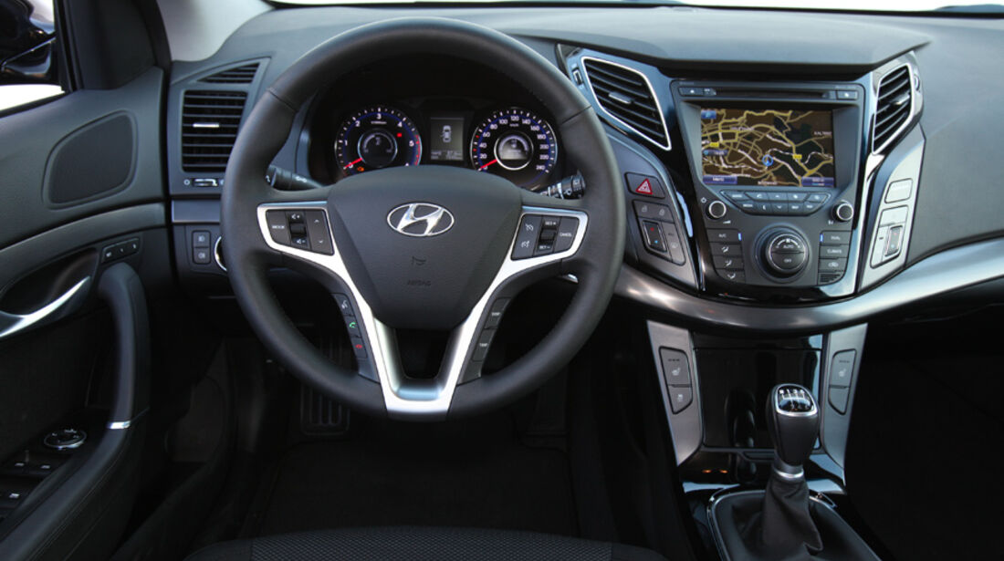 Hyundai i40 cw, Cockpit